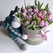 Flowers in box №36
