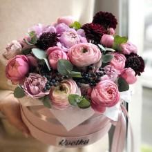Цветы в коробке №41