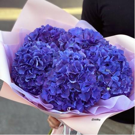 Bouquet of purple hydrangeas (from 3pcs)