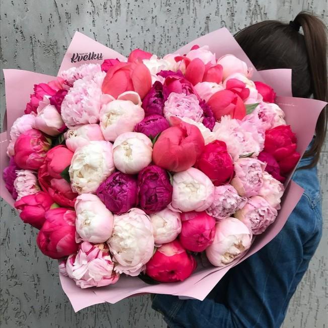 Bouquet of peonies №6