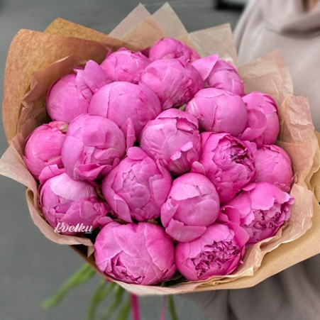 Bouquet of peonies №8