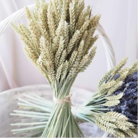 Букет из декоративной пшеницы