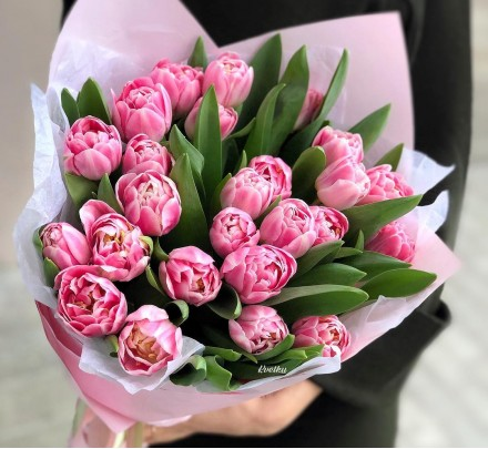 Bouquet of peony tulips Еndless Love