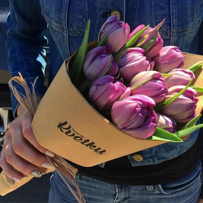 Peony Purple Tulips Double Price