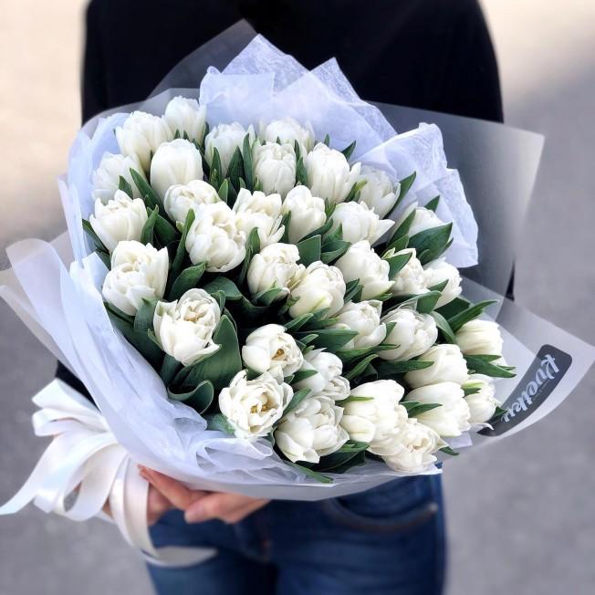 Bouquet of peony tulips Foxtrot