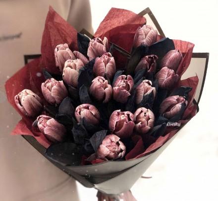 Brownies Tulips