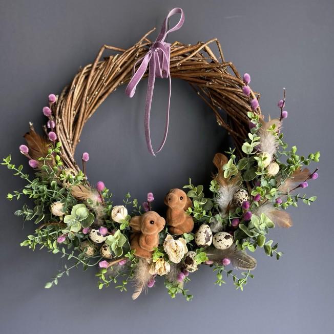 Easter wreath №3