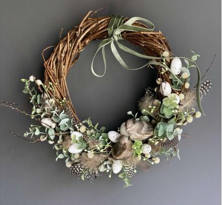 Easter wreath №4