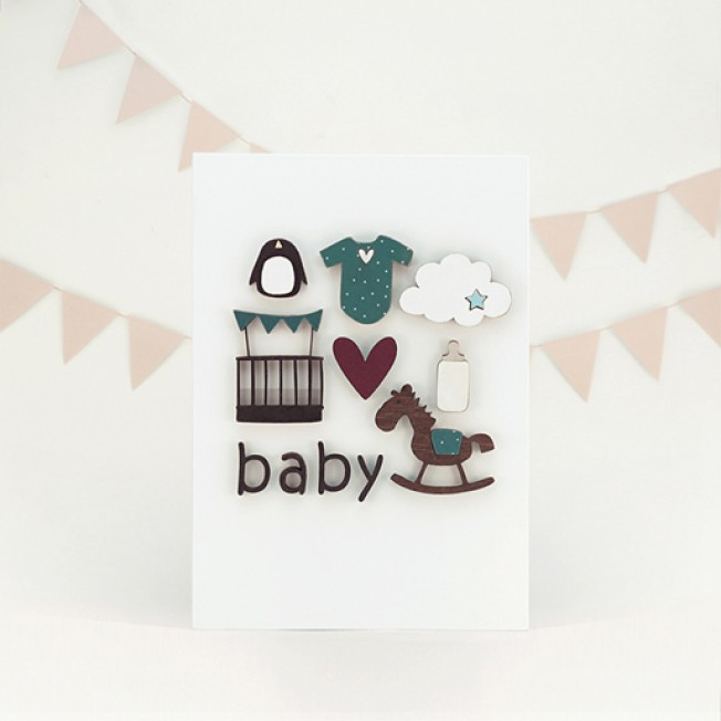 "Postcard ""Baby"""