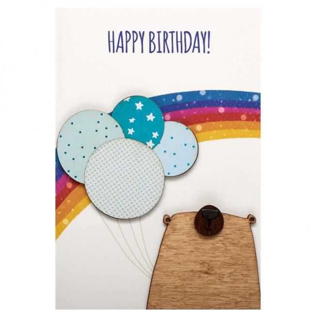 Postcard - Happy birthday