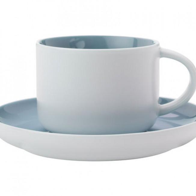 Чайная пара Maxwell and Williams (голубая) 250мл