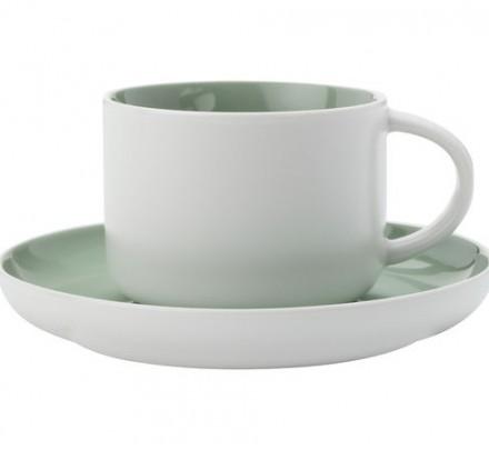 Чайная пара Maxwell and Williams (зеленый) 250мл