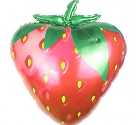 Ball Strawberry 22'' / 56 cm - 1 piece