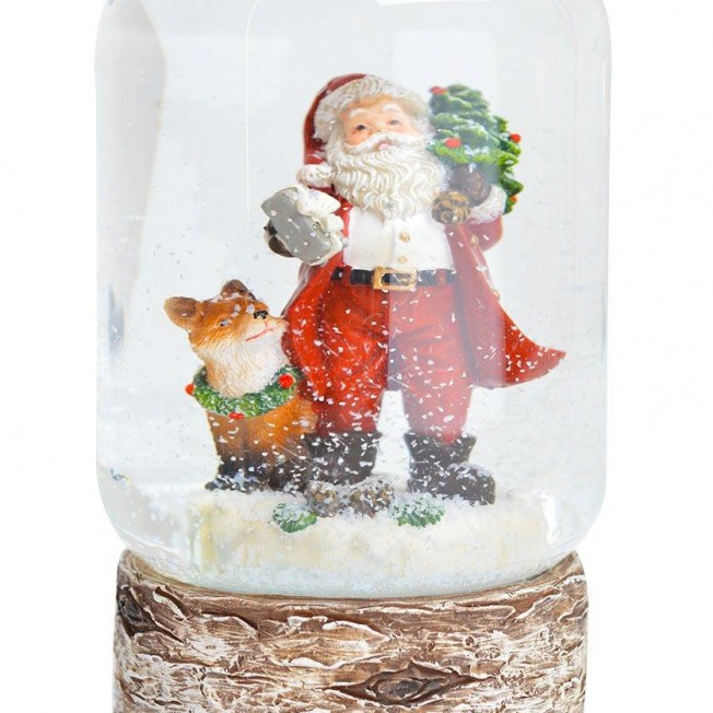 Снежных шар с Санта-Клаусом